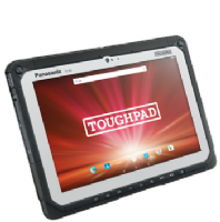 Panasonic Toughpad FZ-A2 Fully Rugged 10″ Android with 4G Android™ 6.0 Model No.  FZ-A2A200CAE - New